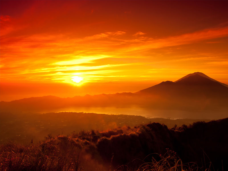 Things to do in Bali Mount Batur Sunrise Bali Land Tours with Diving Indo