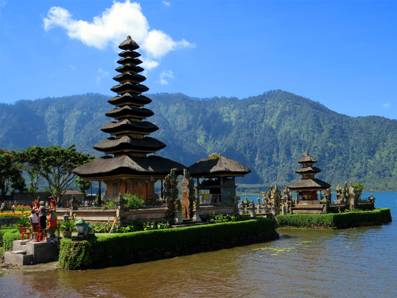 Things to do in Bali Bratan Temple Bali Land Tours