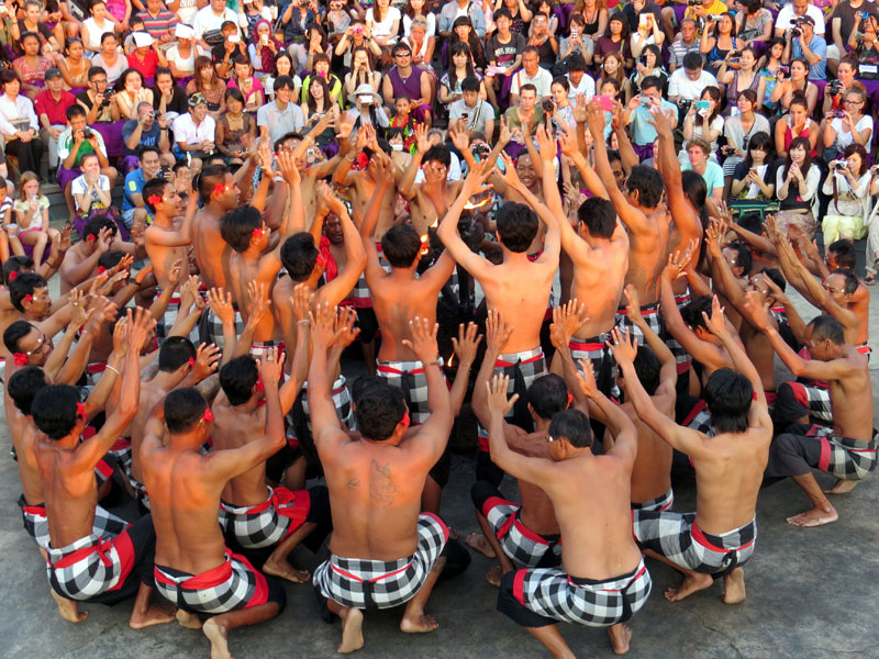Things to do in bali Kecak dance with Diving Indo