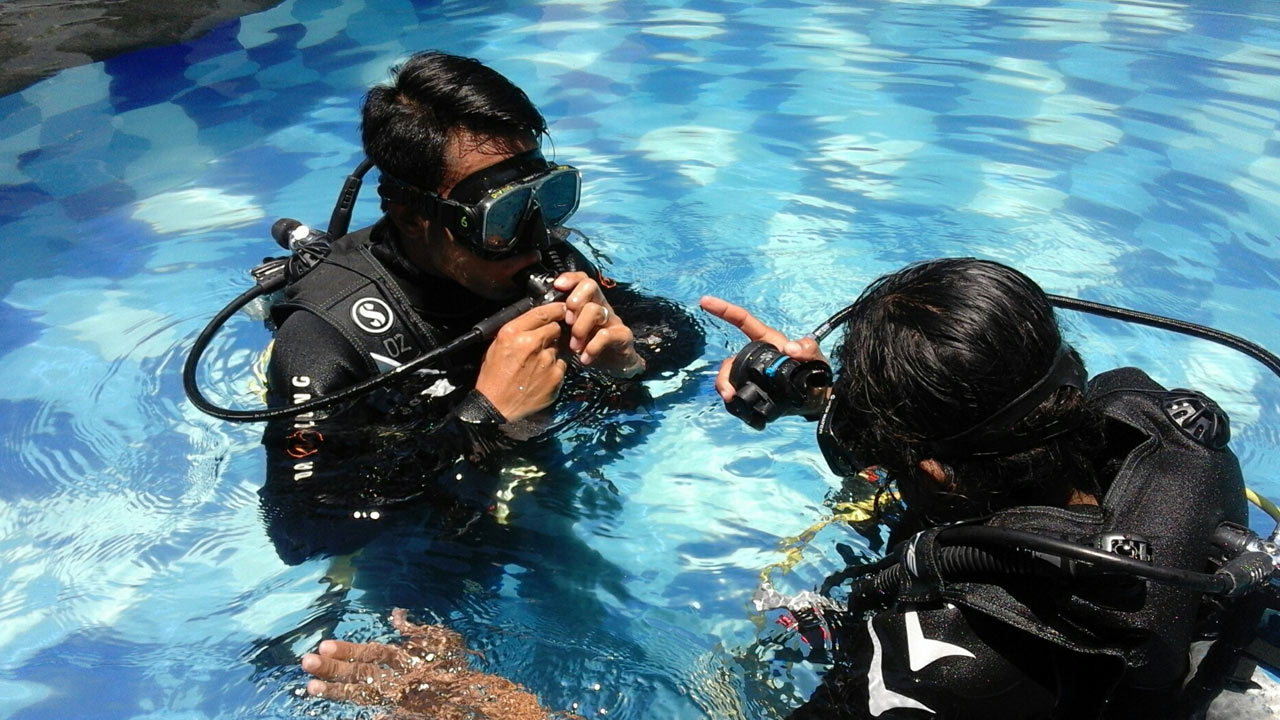 PADI Open Water Course Bali diving