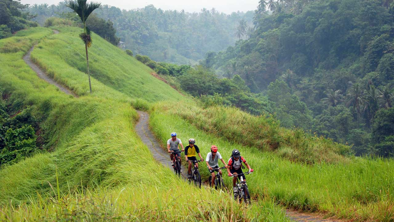 Explore Bali by cycling