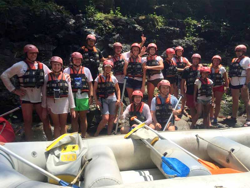 things to do in Bali white water rafting Bali Land Tours with Diving Indo