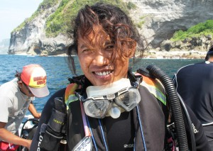 Diving Indo Team Divemaster Hadi Bali