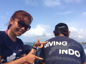 About us Diving Indo Fitri Bali