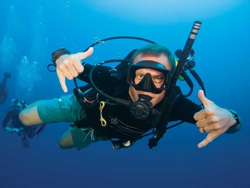 Learn to dive Safari