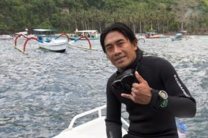 Diving Indo team Eddy