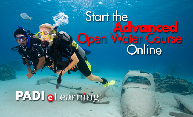 PADI Advanced Open Water Course eLearning