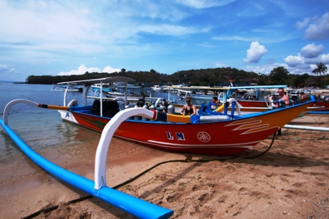 Bali Scuba diving Jukung