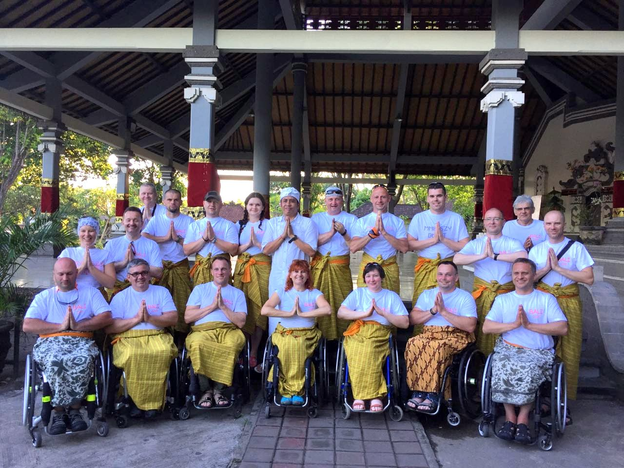 Disabled Diving Bali
