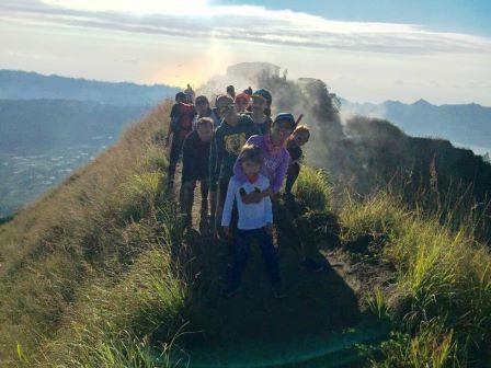 Volcanic Steam volcano trek Mt Batur