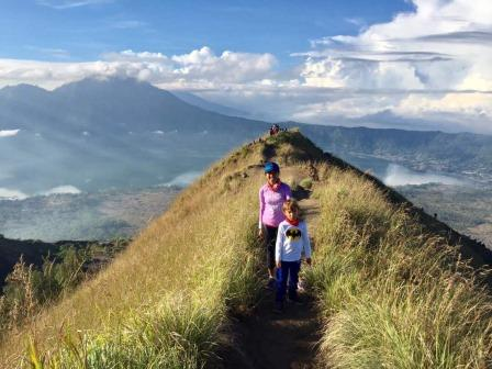 Bali volcano trek