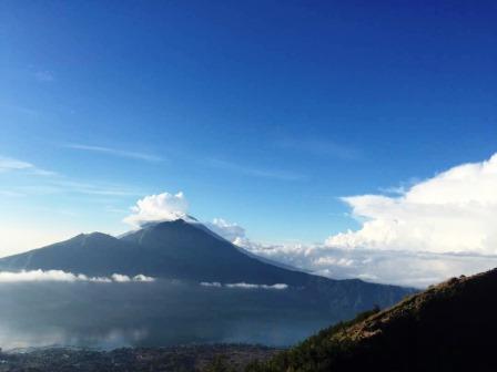 Bali mt Batur volcano trek