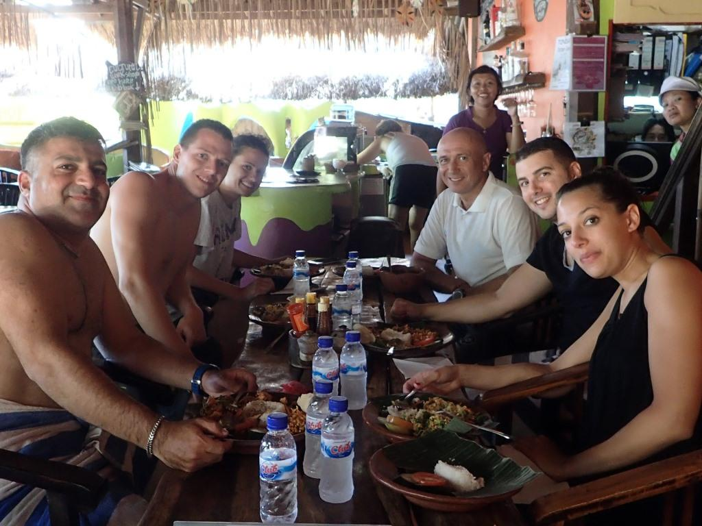 Bali scuba diving weight loss