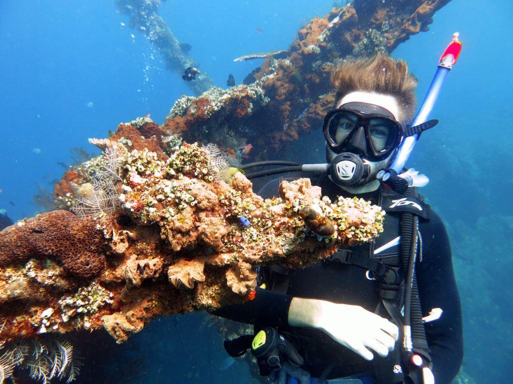 Bali PADI Discover Scuba diving