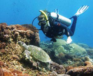 Weight loss - diving at Padang Bai
