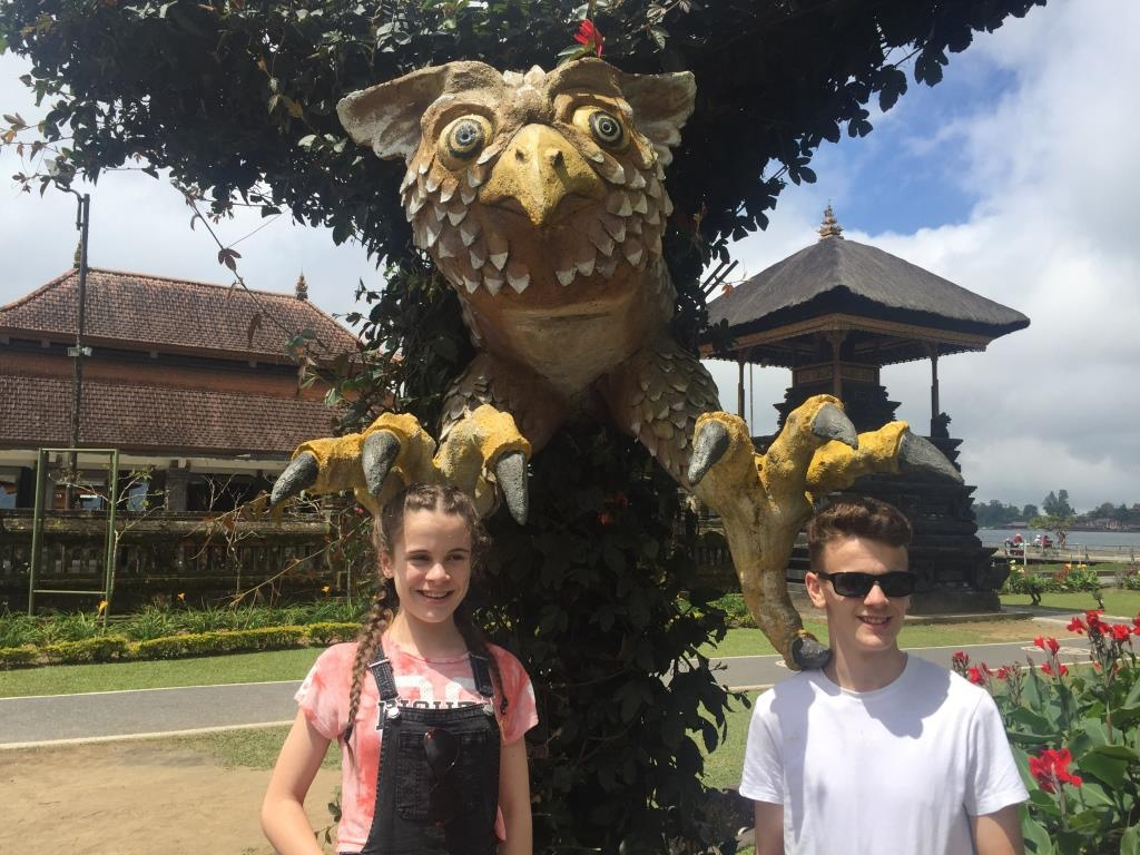 Statues north bali tour