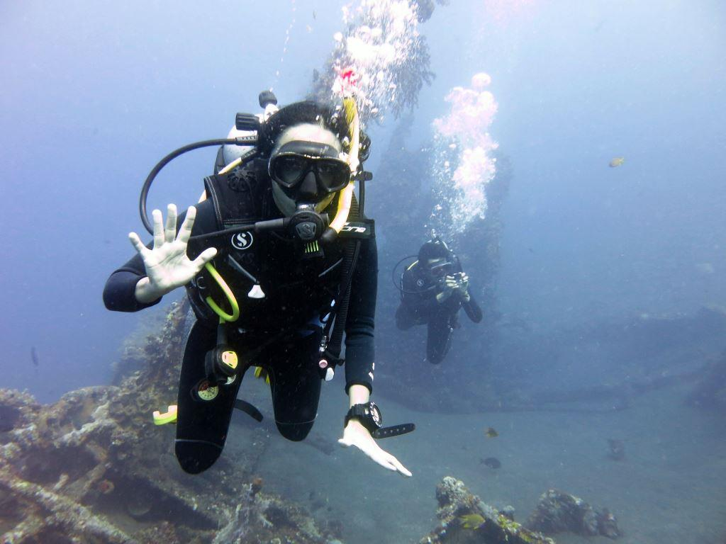 Bali PADI Courses Open Water