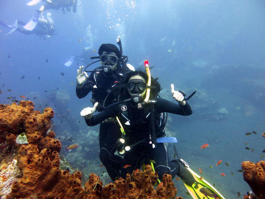 Bali PADI Courses USAT Liberty