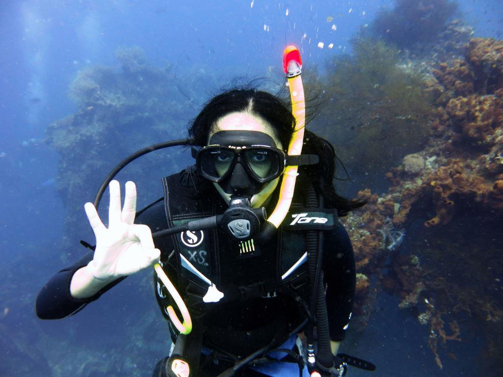 wreck diving Bali PADI Courses