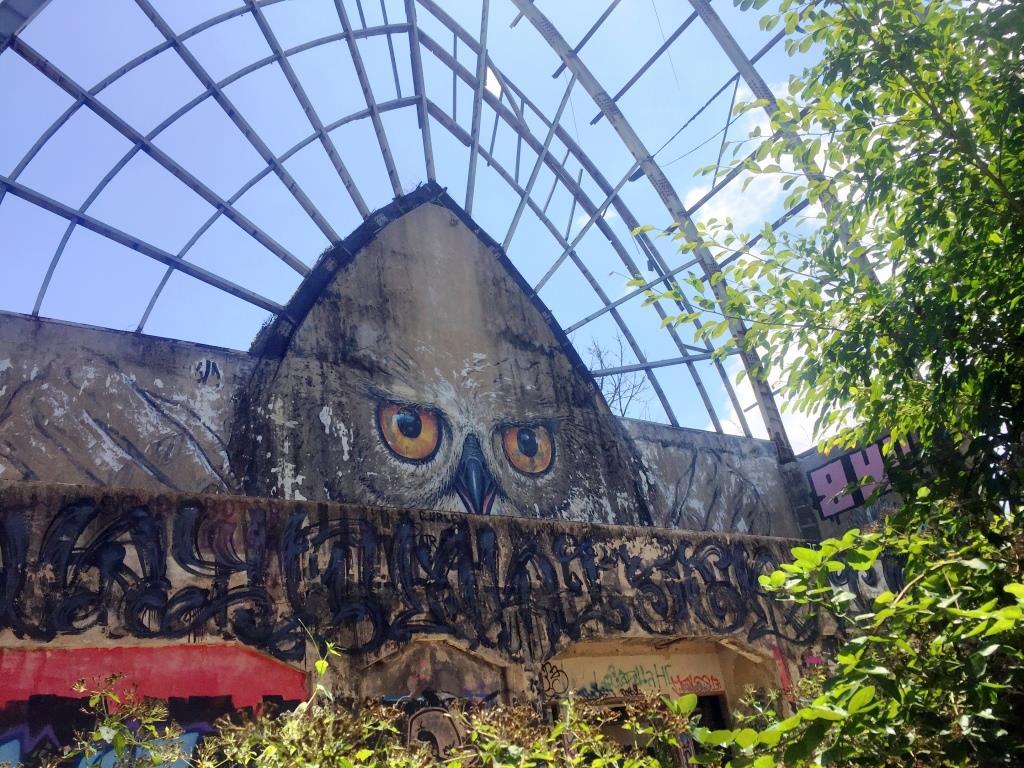 abandoned theme park Taman Festival