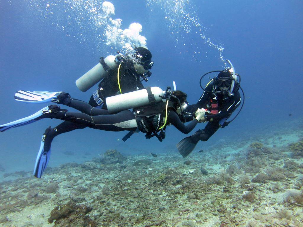 Team Teaching PADI Open Water