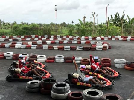 Bali rafting and go-kart