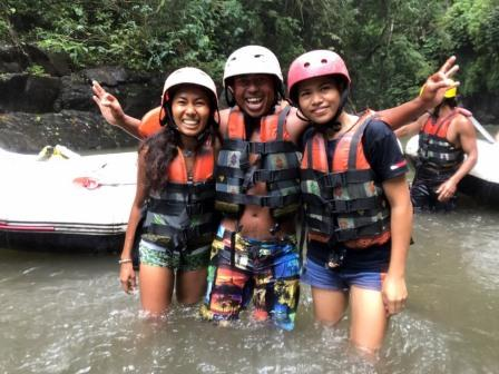 DI Day out Bali rafting