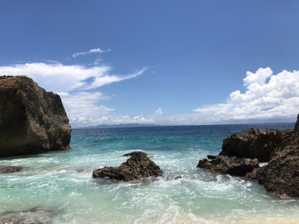 Nusa Penida island Bali sea