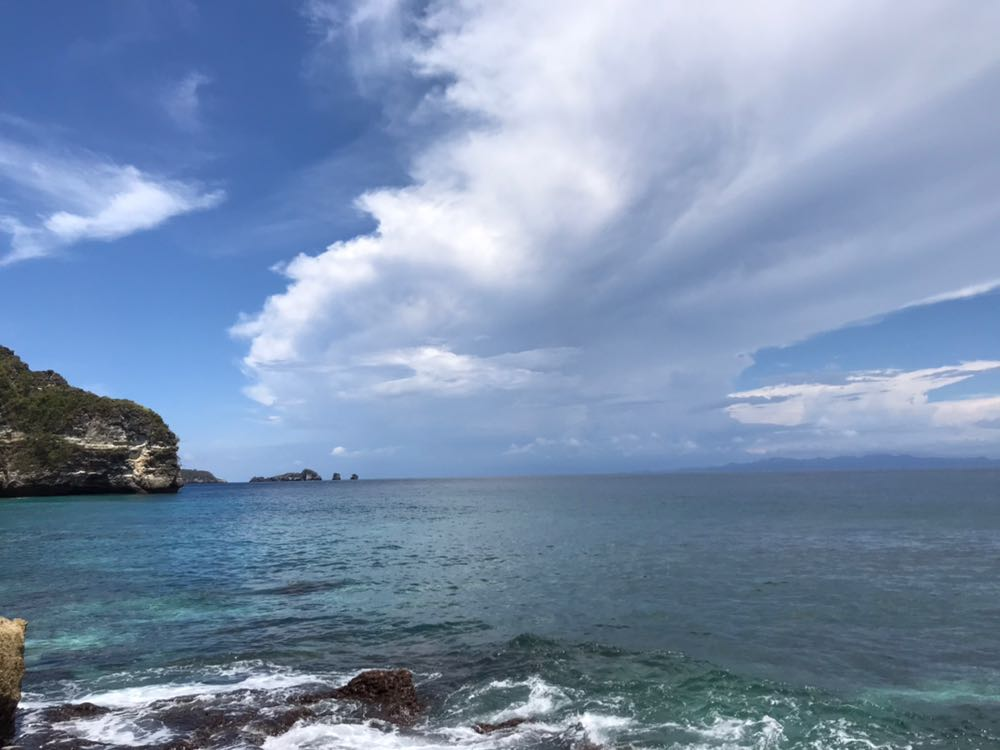 Ocean Nusa Penida island