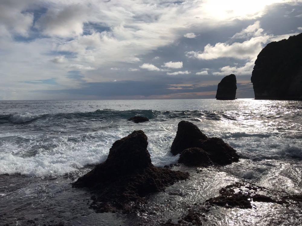 Rocks Nusa Penida island