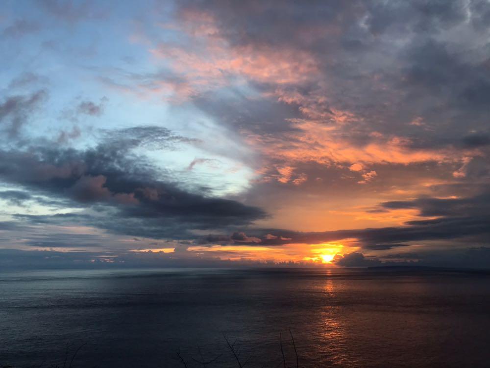 Nusa Penida island sunset