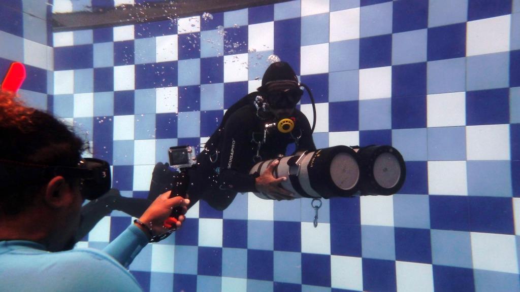 Hadi sidemount diving