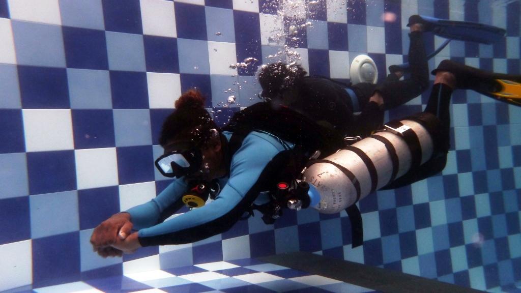 bobby sidemount diving