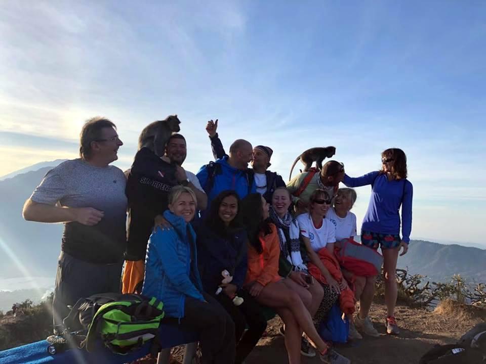 Mt Batur Bali climb a volcano SDC poland