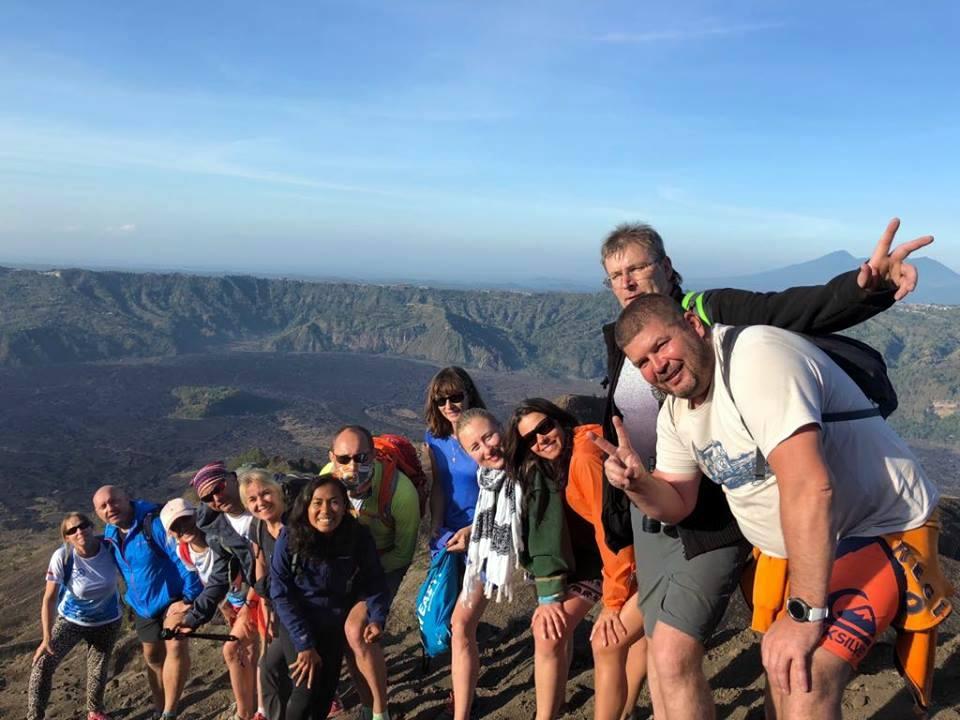 Mt Batur Bali climb a volcano