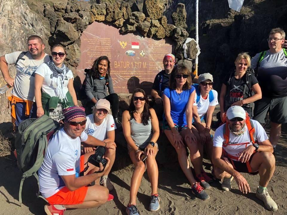 Mt Batur Bali climb a volcano skorpena dive club