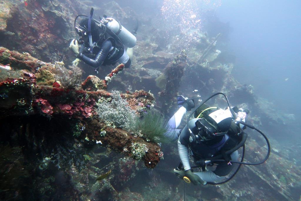 Missing diver PADI rescue diver course