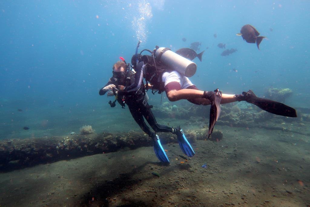 search patterns PADI Rescue diver course