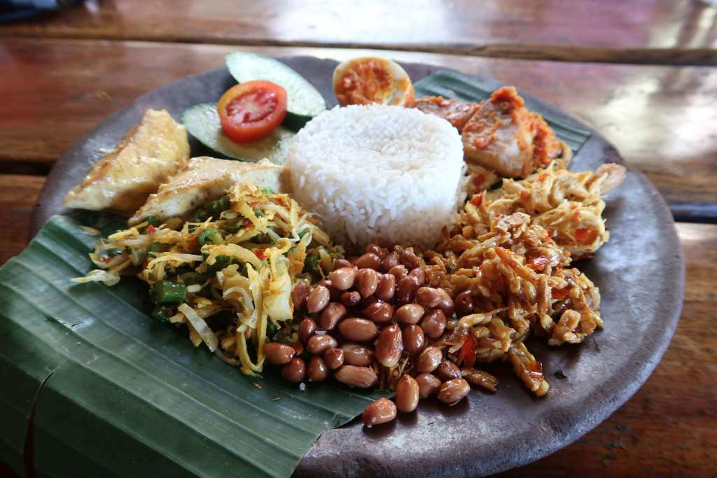 Indonesian Cuisine Nasi Campur Bali - weight loss