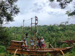 Diving Indo Bali swings Boat team