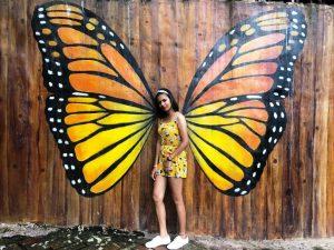 Diving Indo Bali swings butterfly Enok