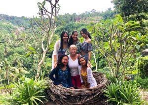 Diving Indo Bali swings nest team