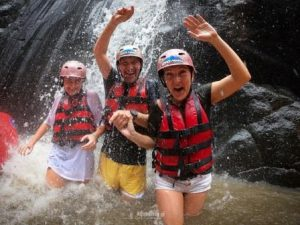 Holiday of a lifetime rafting