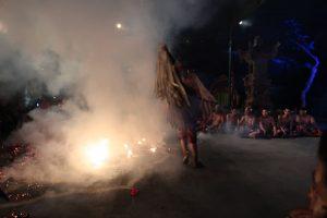 kecak dance trance fire dance